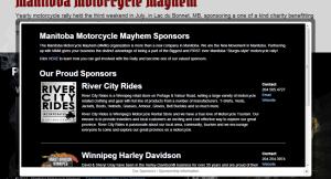 Manitoba Motorcycle Mayhem Sponsors