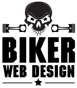 Biker Web Design Logo