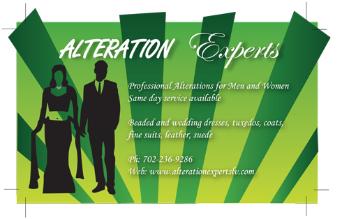 Alteration Experts Business Card