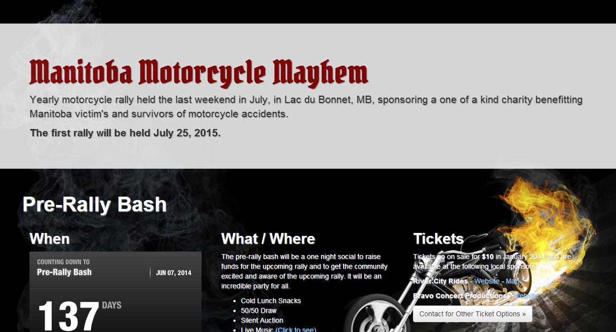Manitoba Motorcycle Mayhem